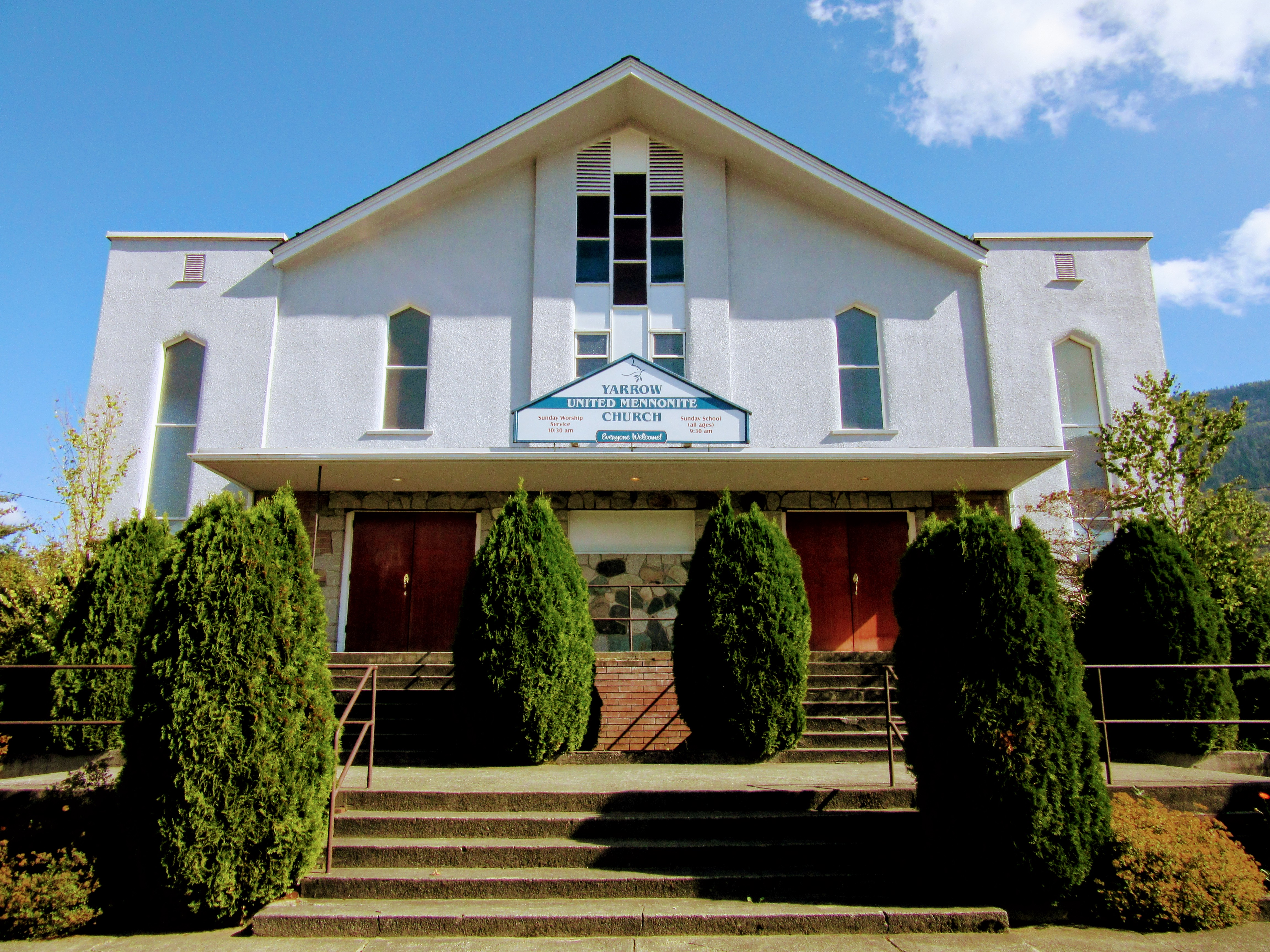 Yarrow United Mennonite Church A Friendly Church With A Big Heart